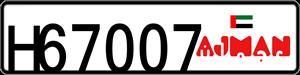 67007