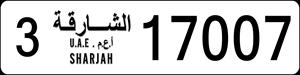 17007