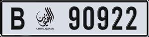 90922
