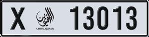 13013